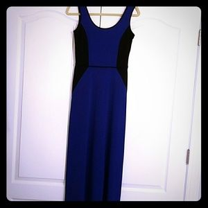Donna Ricco (New York)Black and Blue dress